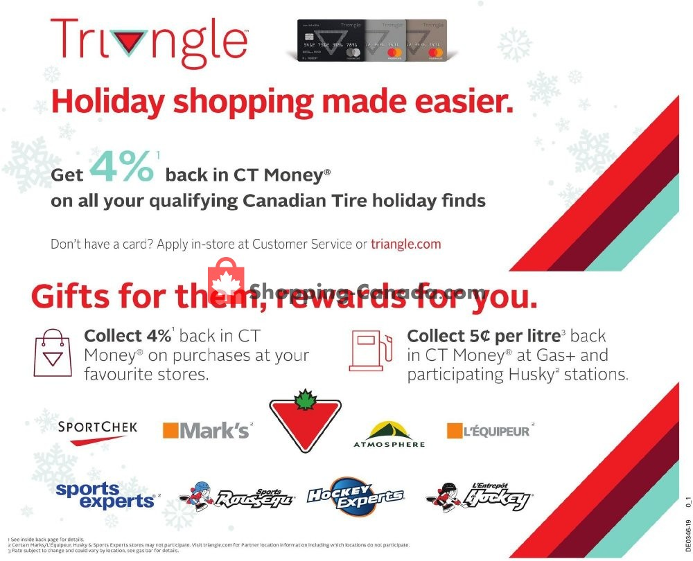 Flyer Canadian Tire Canada - from Friday November 8, 2019 to Thursday November 14, 2019