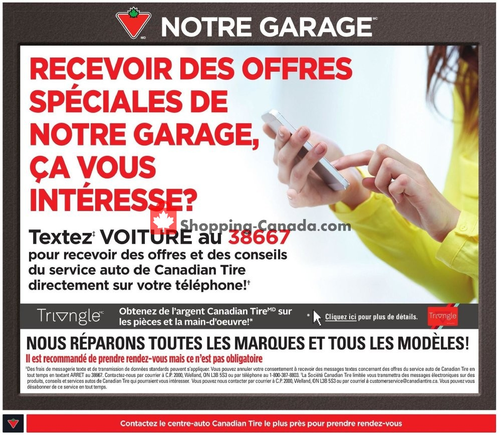 Flyer Canadian Tire Canada - from Thursday October 4, 2018 to Wednesday October 10, 2018