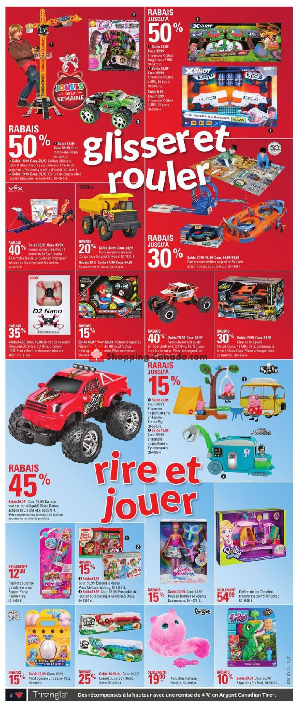 Flyer Canadian Tire Canada - from Thursday December 6, 2018 to Wednesday December 12, 2018