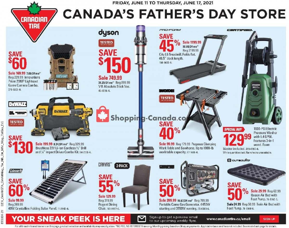 Flyer Canadian Tire Canada - from Friday June 11, 2021 to Thursday June 17, 2021