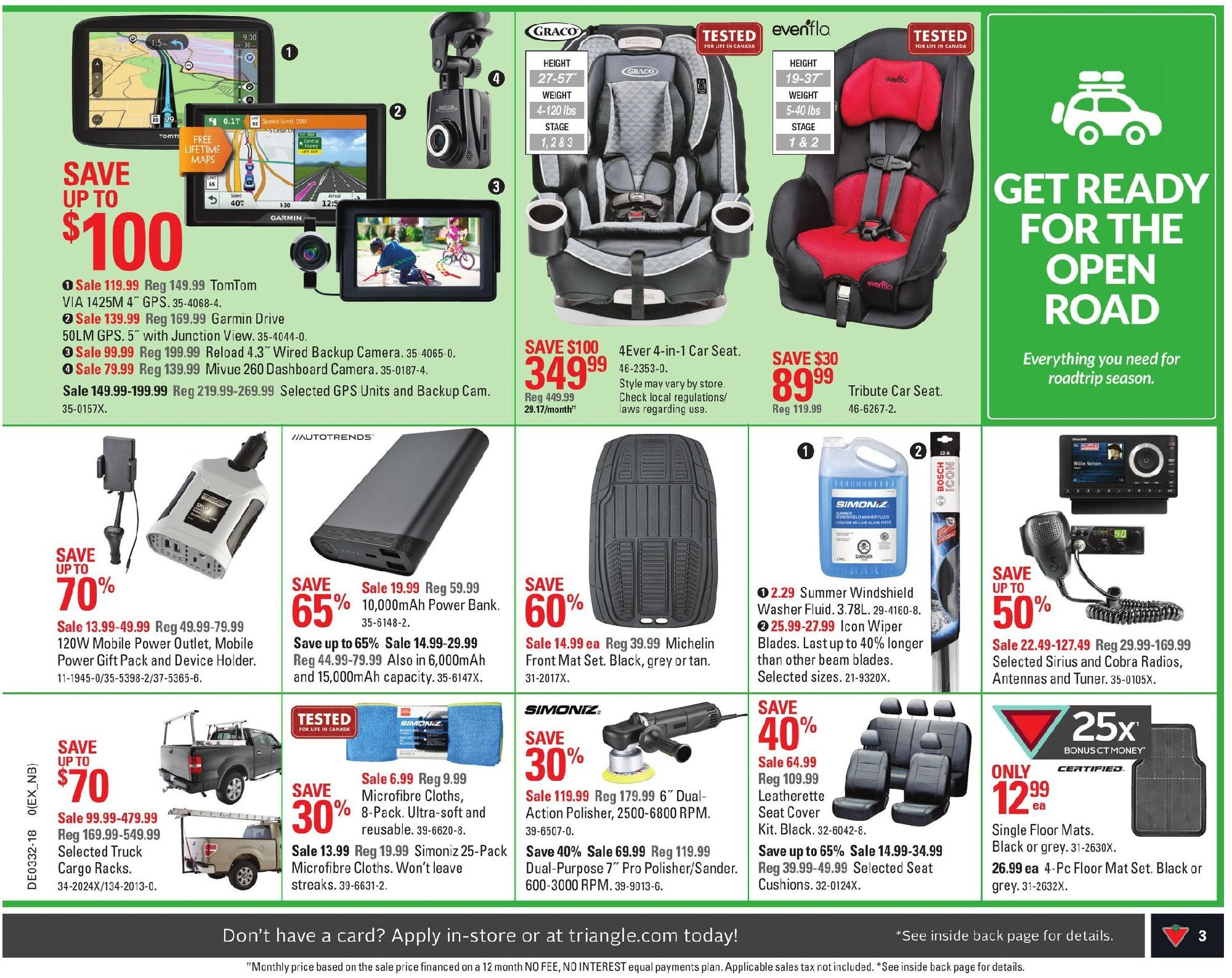 Flyer Canadian Tire Canada - from Wednesday August 8, 2018 to Wednesday August 8, 2018