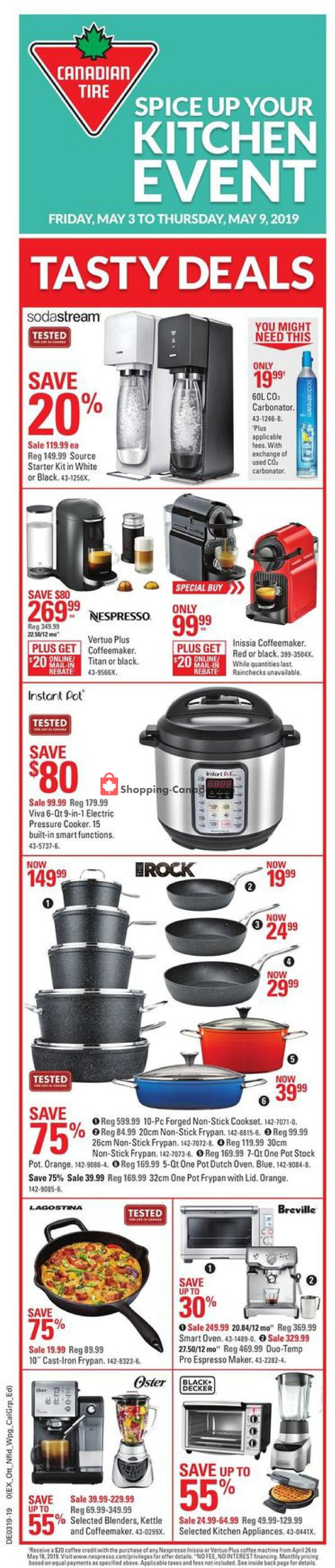 Flyer Canadian Tire Canada - from Friday May 3, 2019 to Thursday May 9, 2019