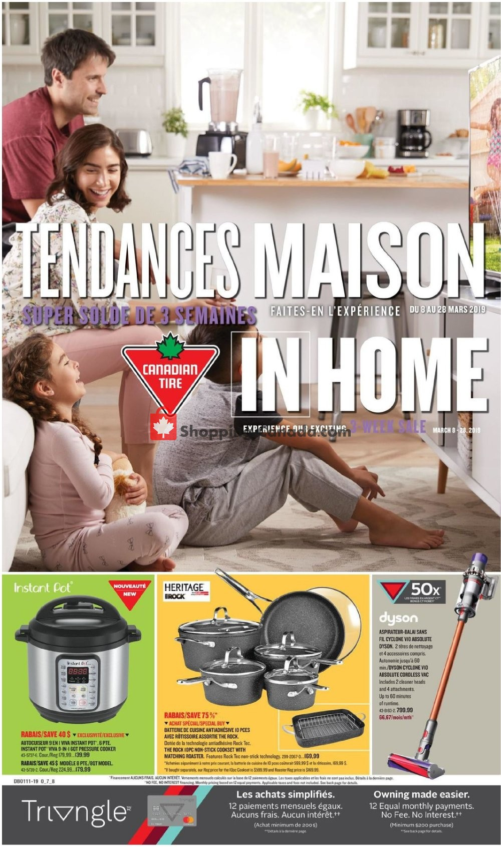Flyer Canadian Tire Canada - from Friday March 8, 2019 to Thursday March 28, 2019