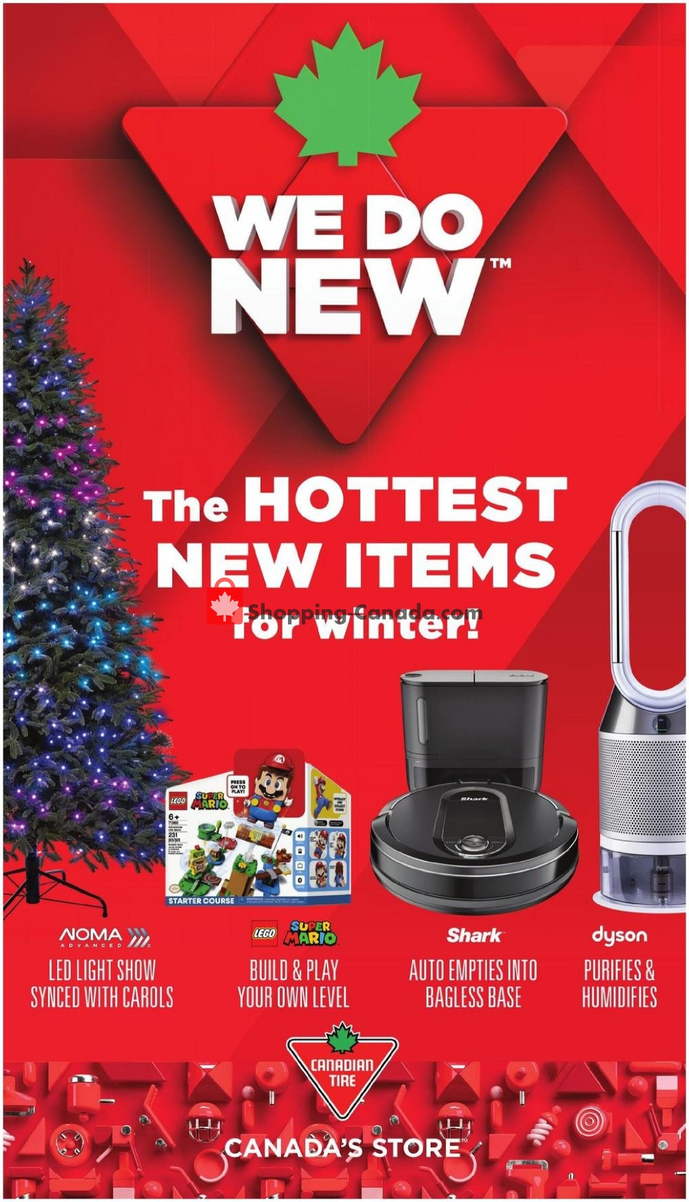 Flyer Canadian Tire Canada - from Friday November 6, 2020 to Thursday December 3, 2020