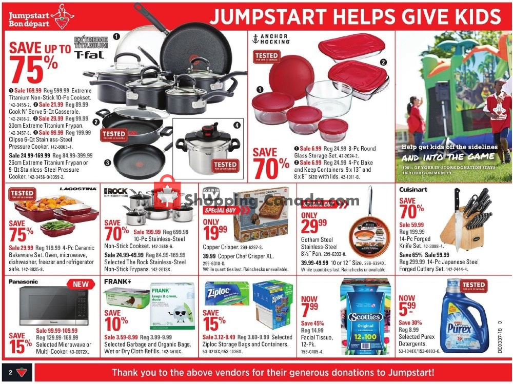 Flyer Canadian Tire Canada - from Friday September 7, 2018 to Thursday September 13, 2018