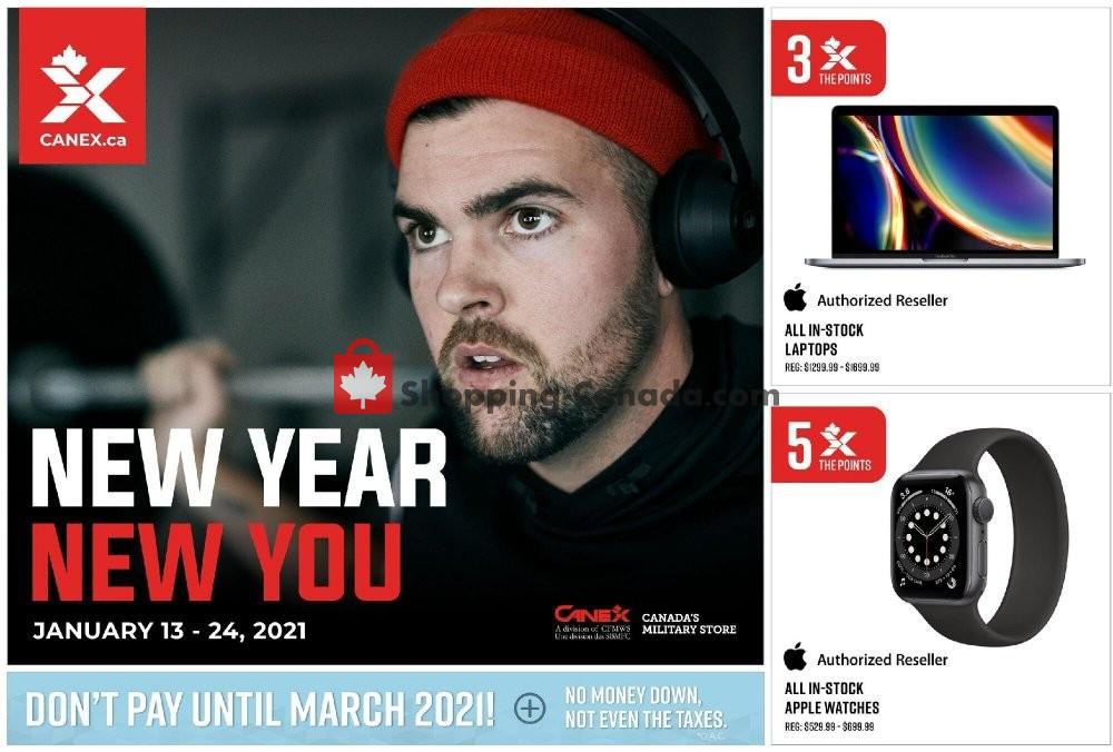 Flyer Canex Canada - from Wednesday January 13, 2021 to Sunday January 24, 2021