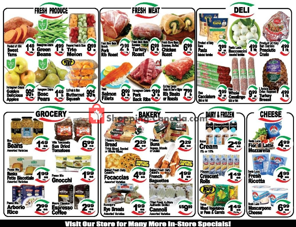 Flyer Cataldi Fresh Market Canada - from Wednesday October 9, 2019 to Tuesday October 15, 2019