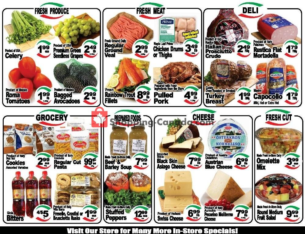 Flyer Cataldi Fresh Market Canada - from Wednesday January 15, 2020 to Tuesday January 21, 2020