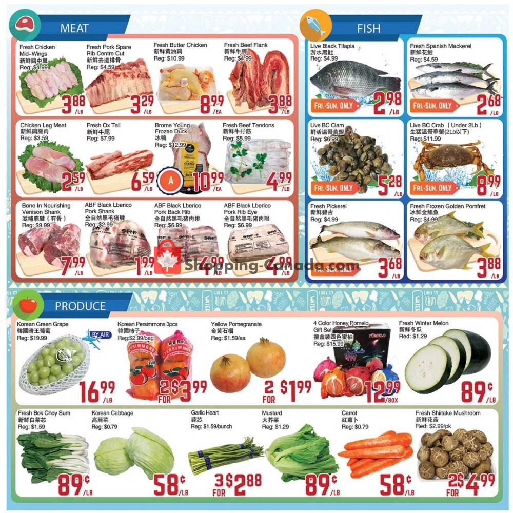 Flyer C&C Supermarket Canada - from Friday January 10, 2020 to Thursday January 16, 2020