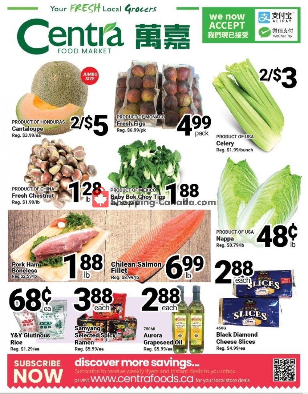 Flyer Centra Food Market Canada - from Friday January 10, 2020 to Thursday January 16, 2020