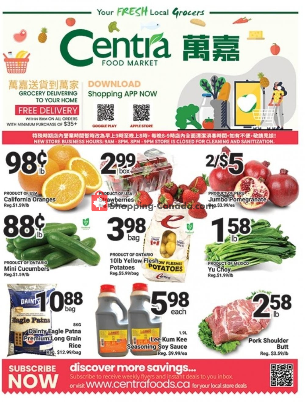 Flyer Centra Food Market Canada - from Friday April 24, 2020 to Thursday April 30, 2020