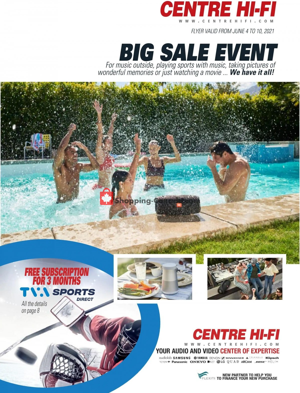 Flyer Centre Hi-Fi Canada - from Friday June 4, 2021 to Thursday June 10, 2021