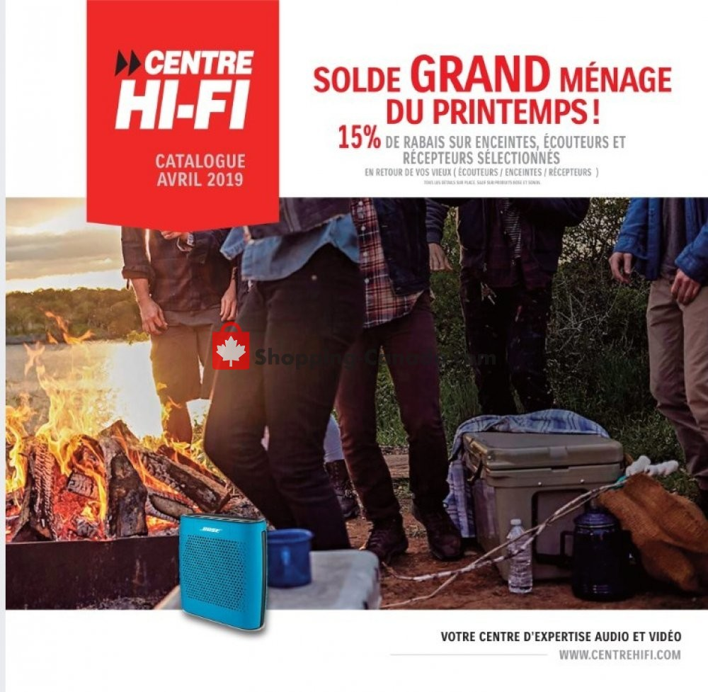 Flyer Centre Hi-Fi Canada - from Friday April 12, 2019 to Thursday April 18, 2019
