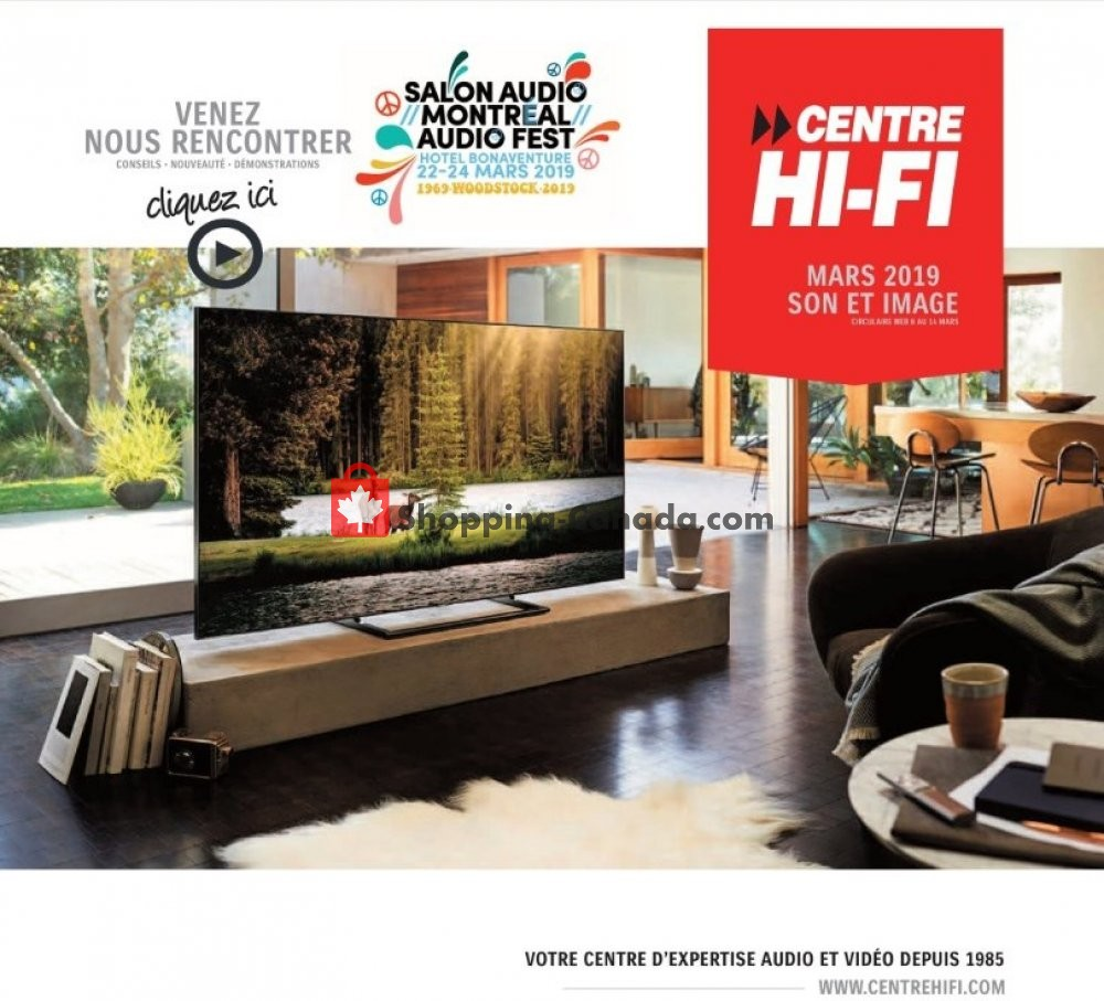 Flyer Centre Hi-Fi Canada - from Friday March 8, 2019 to Thursday March 14, 2019