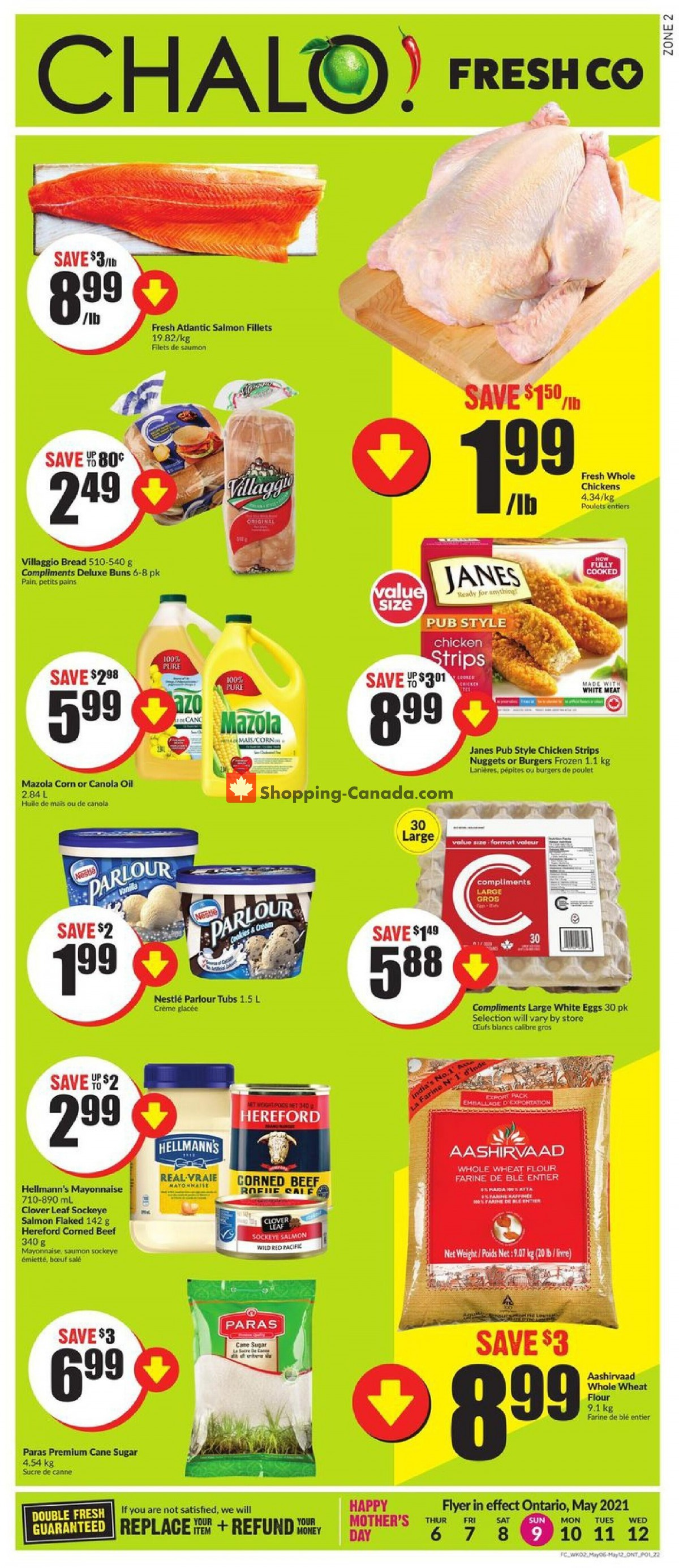 Flyer Chalo FreshCo Canada - from Thursday May 6, 2021 to Wednesday May 12, 2021
