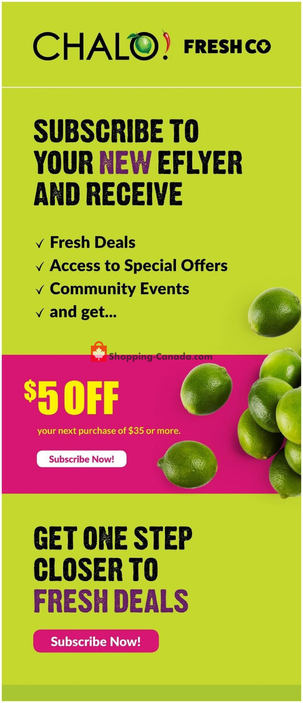 Flyer Chalo FreshCo Canada - from Thursday August 8, 2019 to Wednesday August 14, 2019