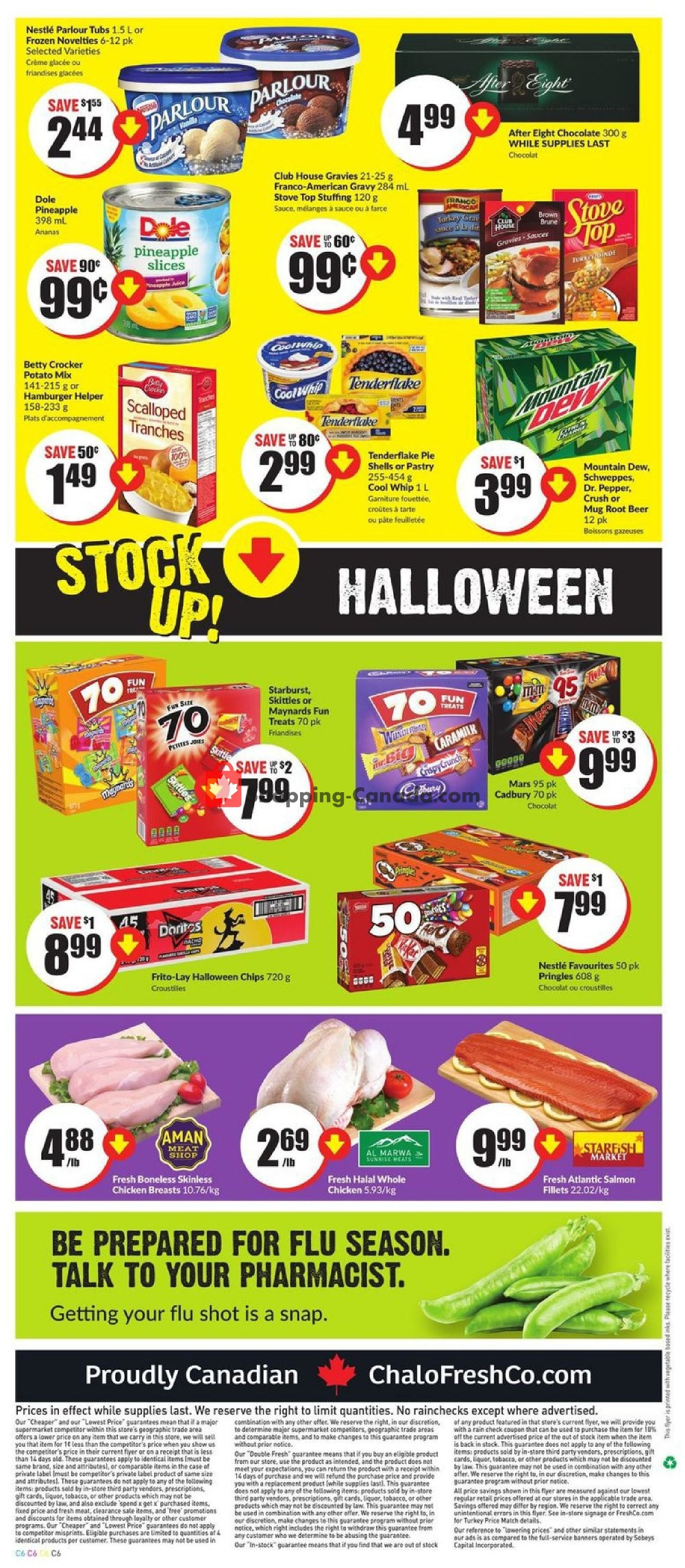 Flyer Chalo FreshCo Canada - from Thursday October 10, 2019 to Wednesday October 16, 2019
