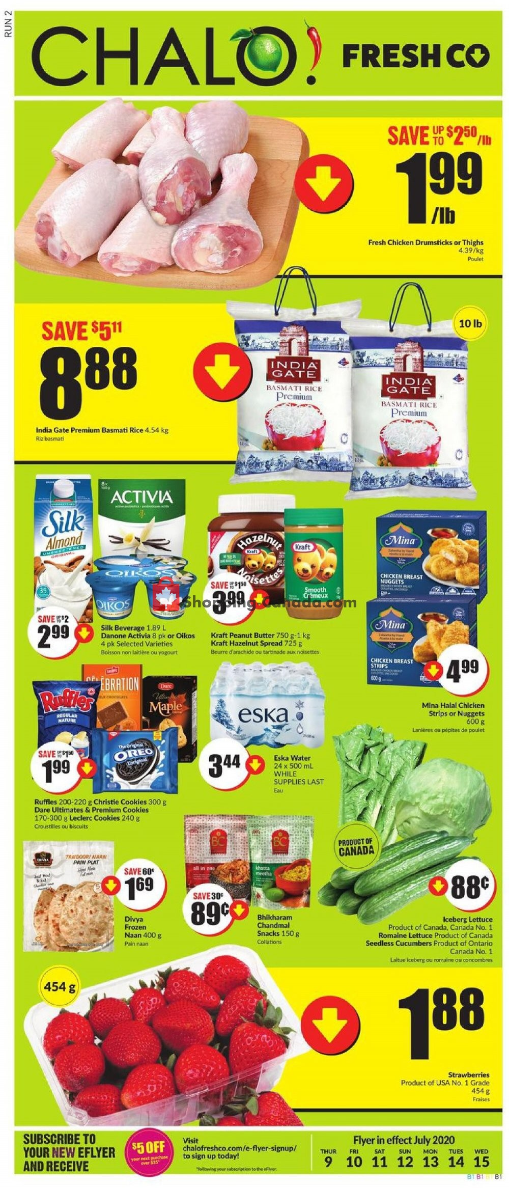 Flyer Chalo FreshCo Canada - from Thursday July 9, 2020 to Wednesday July 15, 2020