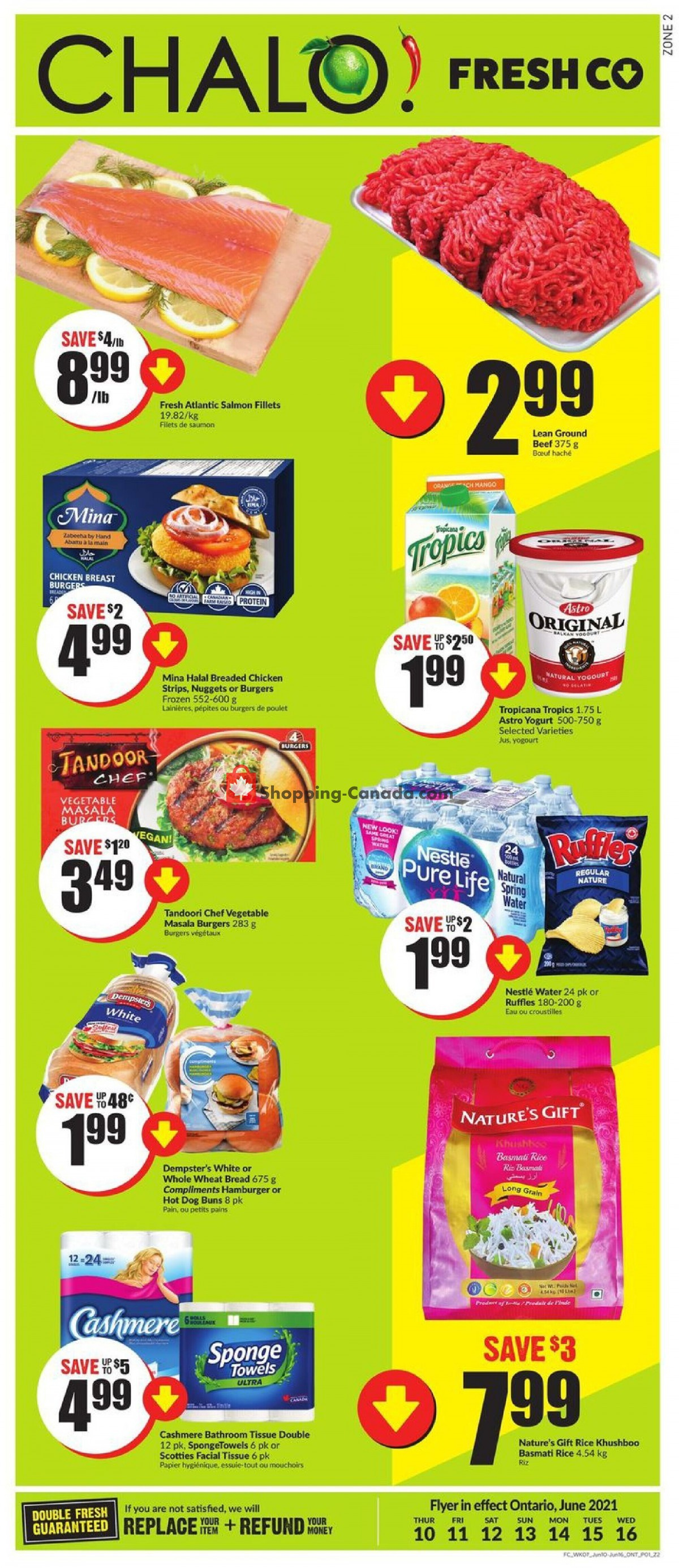 Flyer Chalo FreshCo Canada - from Thursday June 10, 2021 to Wednesday June 16, 2021