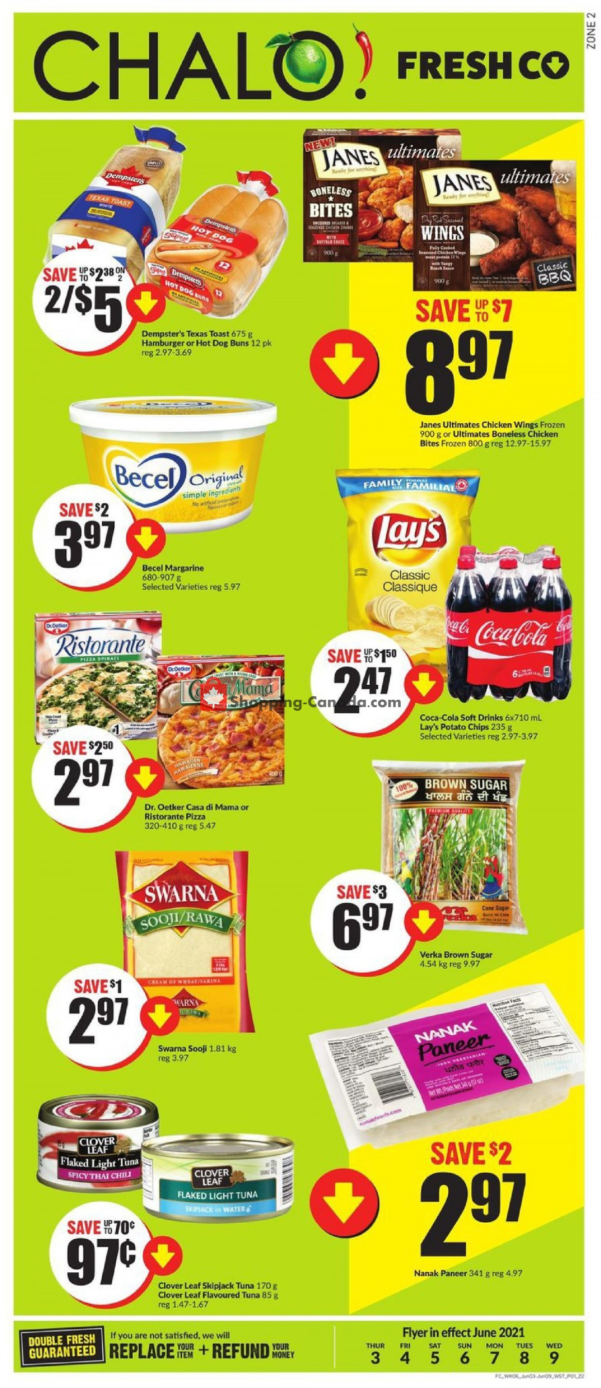 Flyer Chalo FreshCo Canada - from Thursday June 3, 2021 to Wednesday June 9, 2021