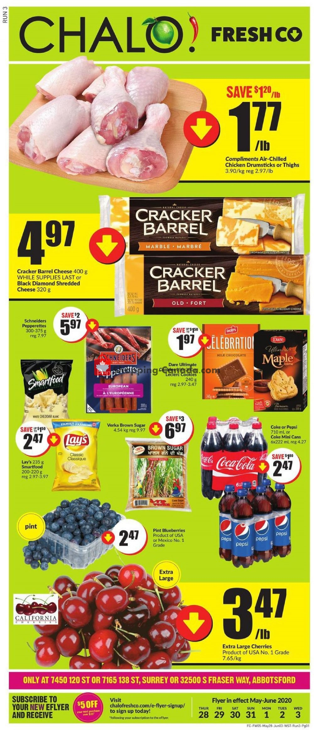 Flyer Chalo FreshCo Canada - from Thursday May 28, 2020 to Wednesday June 3, 2020