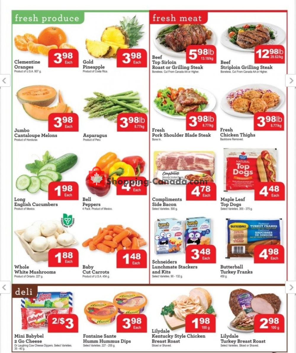 Flyer Chesley Grocery Store Canada - from Friday January 10, 2020 to Thursday January 16, 2020