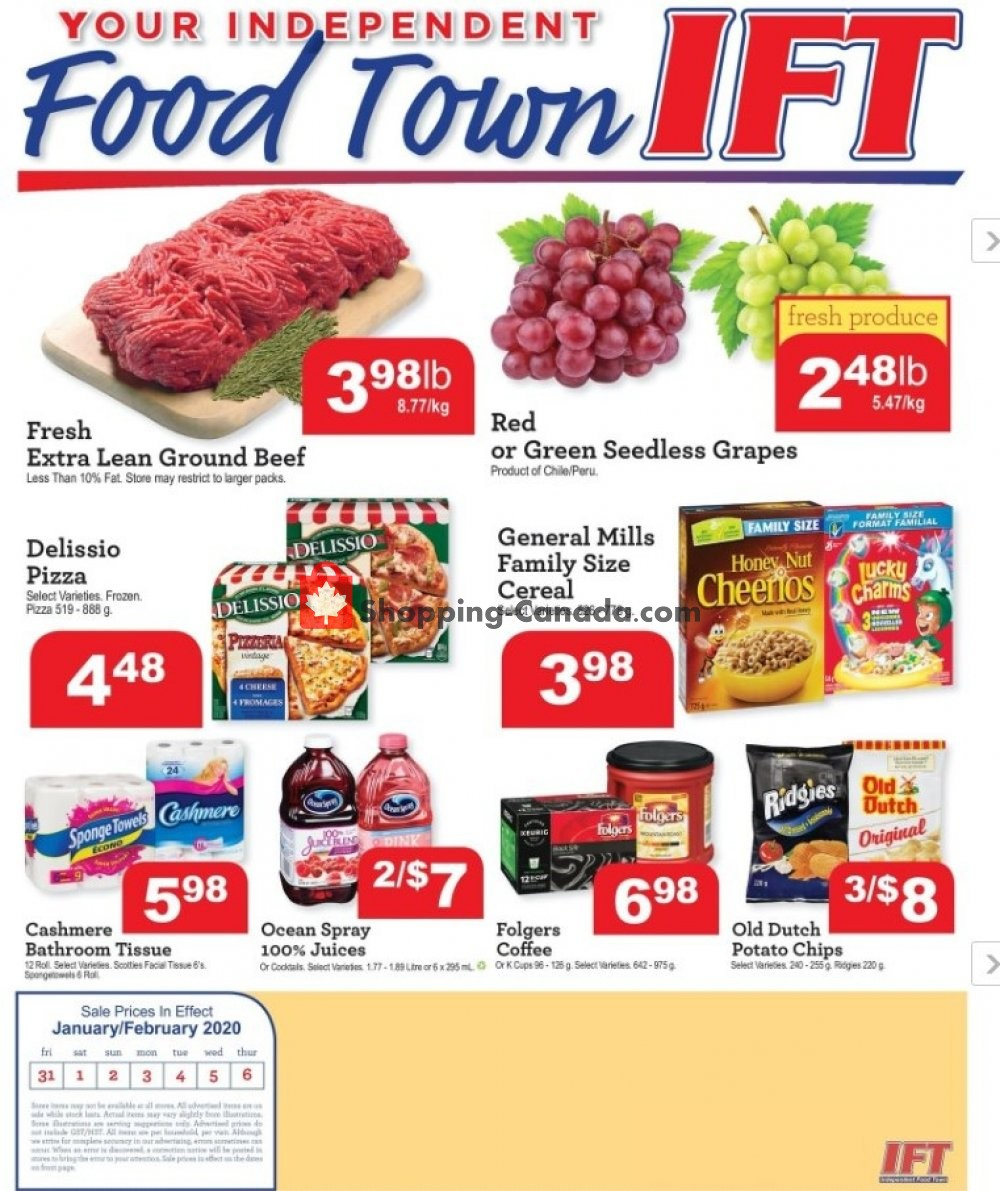 Flyer Chesley Grocery Store Canada - from Friday January 31, 2020 to Thursday February 6, 2020