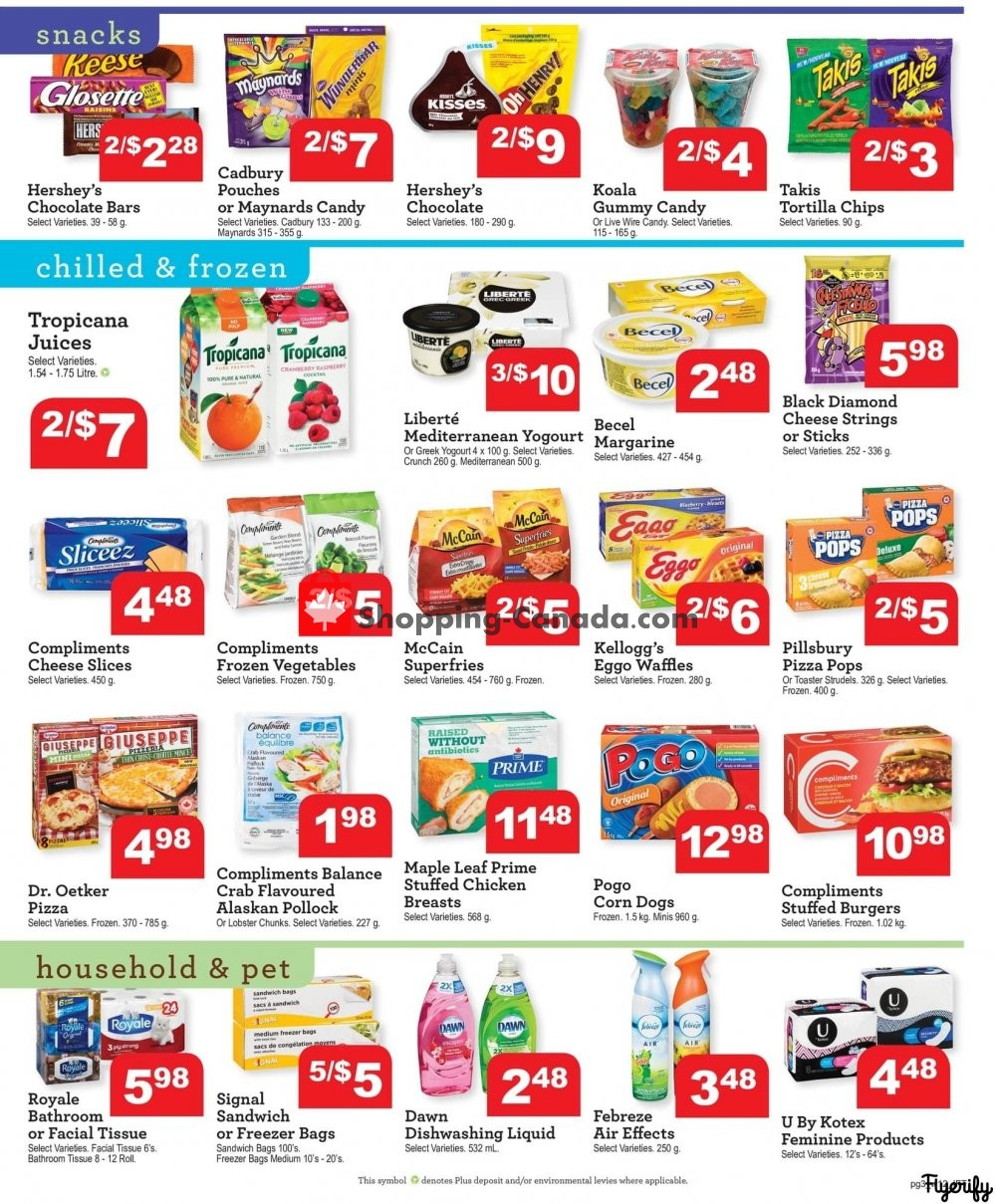 Flyer Chesley Grocery Store Canada - from Friday July 19, 2019 to Thursday July 25, 2019