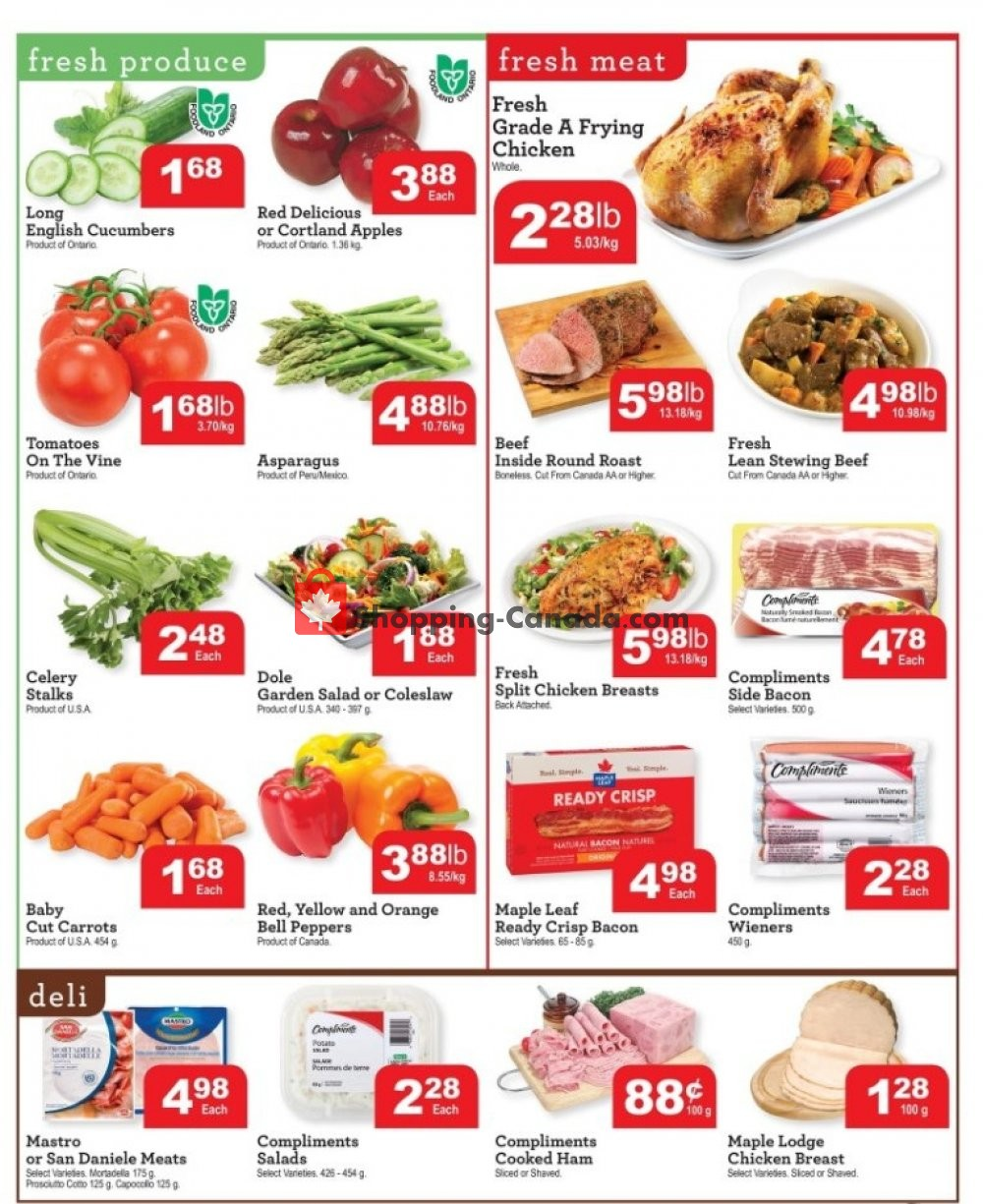 Flyer Chesley Grocery Store Canada - from Friday November 8, 2019 to Thursday November 14, 2019