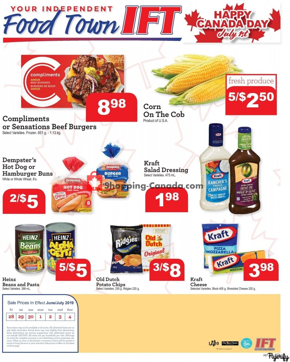 Flyer Chesley Grocery Store Canada - from Friday June 28, 2019 to Thursday July 4, 2019