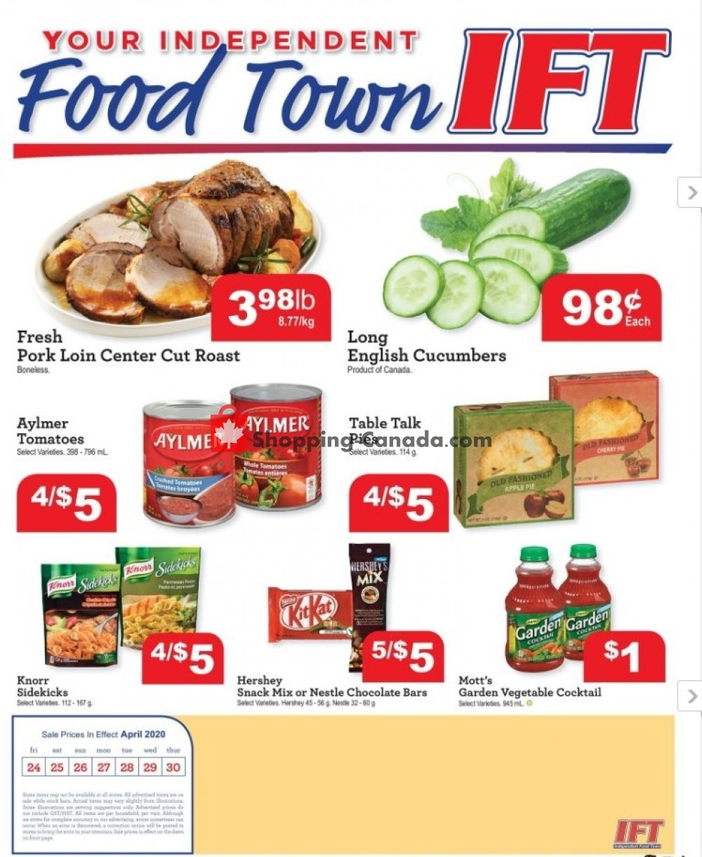 Flyer Chesley Grocery Store Canada - from Friday April 24, 2020 to Thursday April 30, 2020