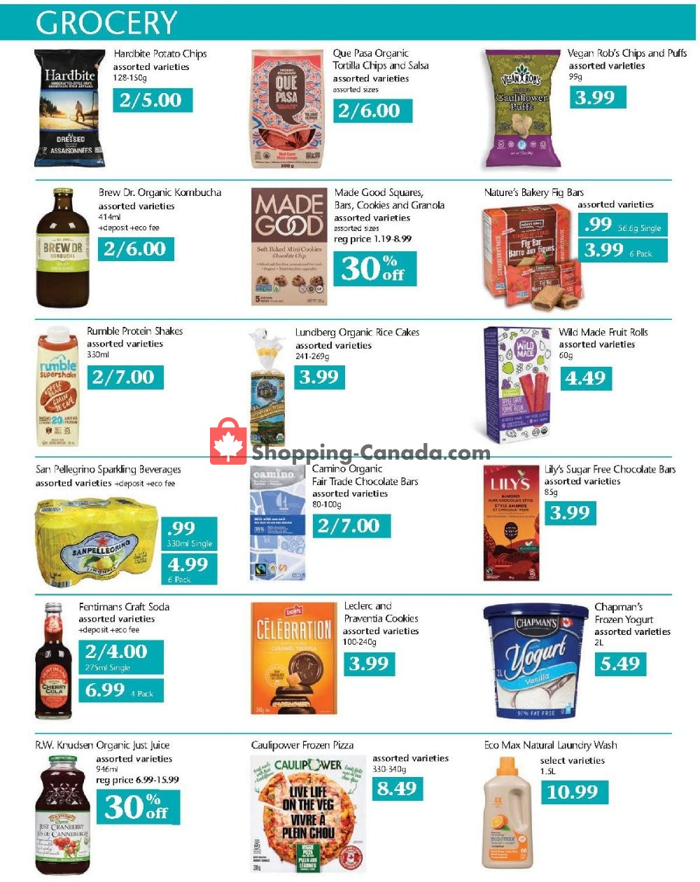 Flyer Choices Market Canada - from Thursday November 7, 2019 to Wednesday November 13, 2019