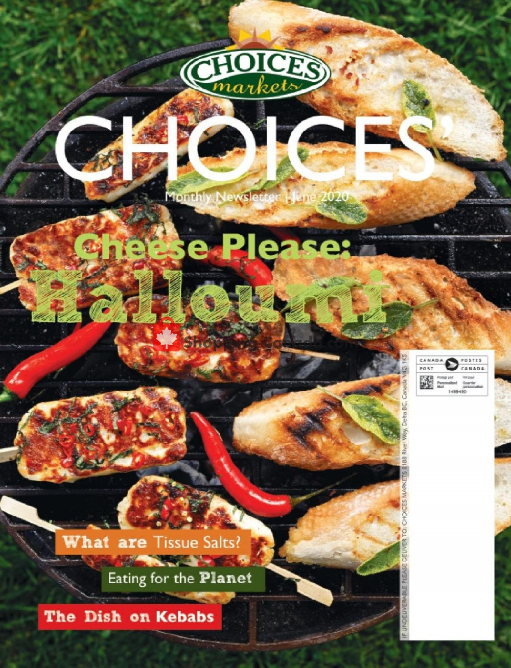Flyer Choices Market Canada - from Monday June 1, 2020 to Tuesday June 30, 2020