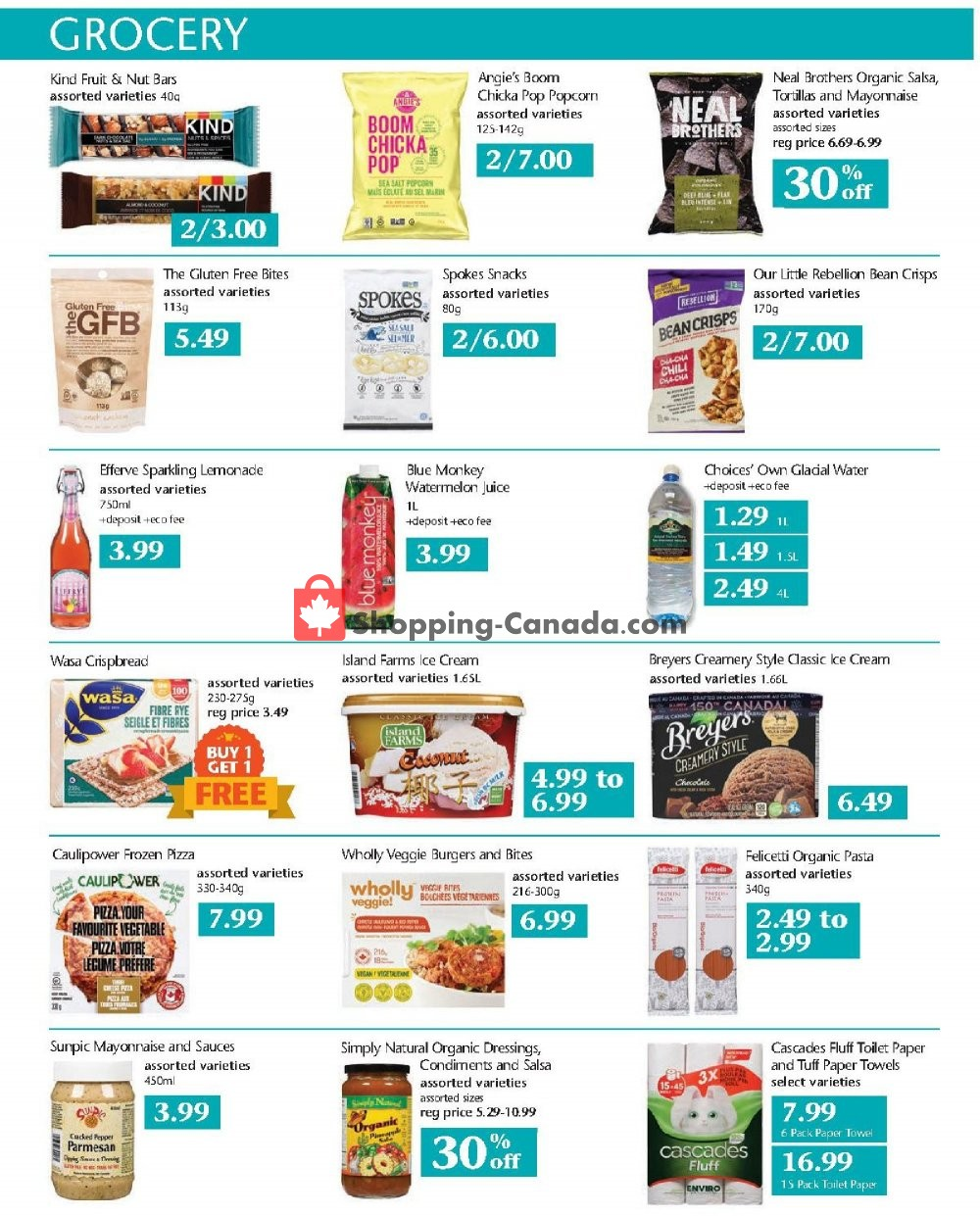Flyer Choices Market Canada - from Thursday July 11, 2019 to Wednesday July 17, 2019