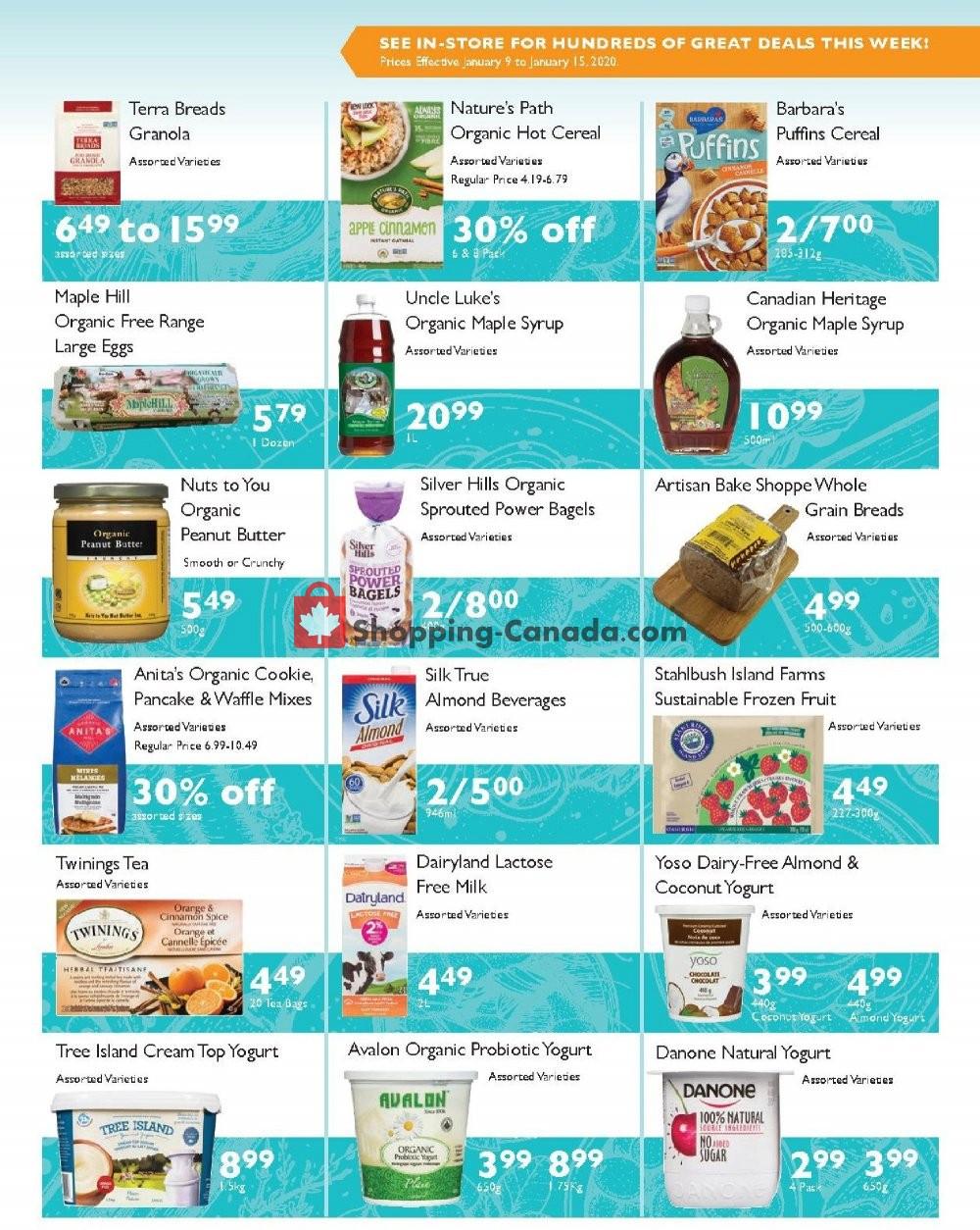 Flyer Choices Market Canada - from Thursday January 9, 2020 to Wednesday January 15, 2020