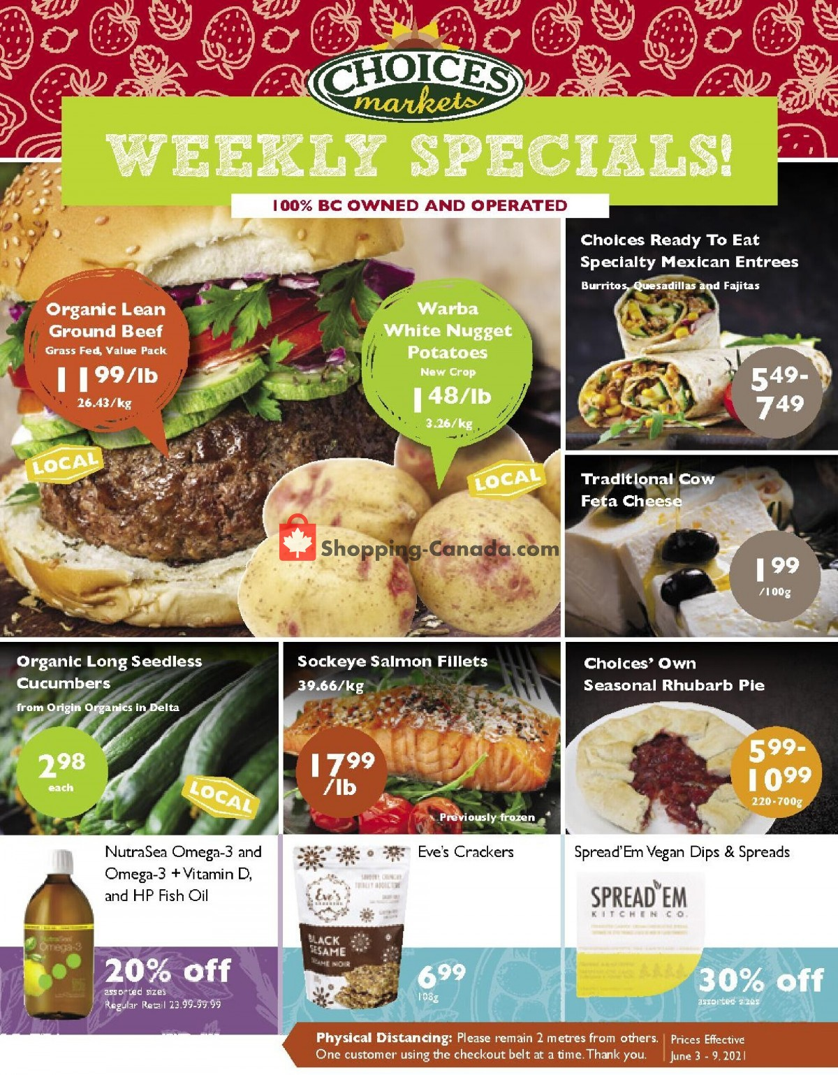 Flyer Choices Market Canada - from Thursday June 3, 2021 to Wednesday June 9, 2021