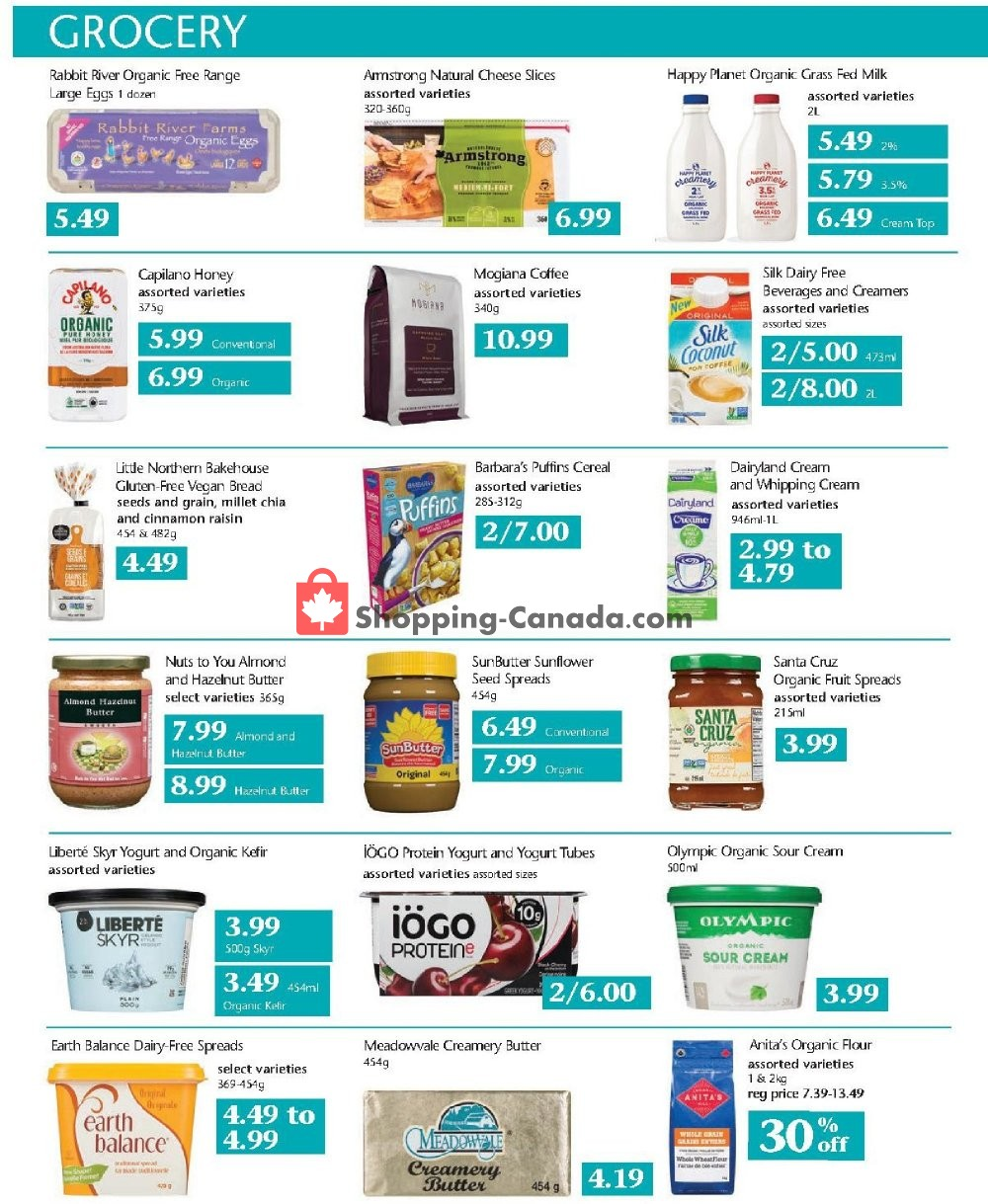 Flyer Choices Market Canada - from Thursday September 5, 2019 to Wednesday September 11, 2019