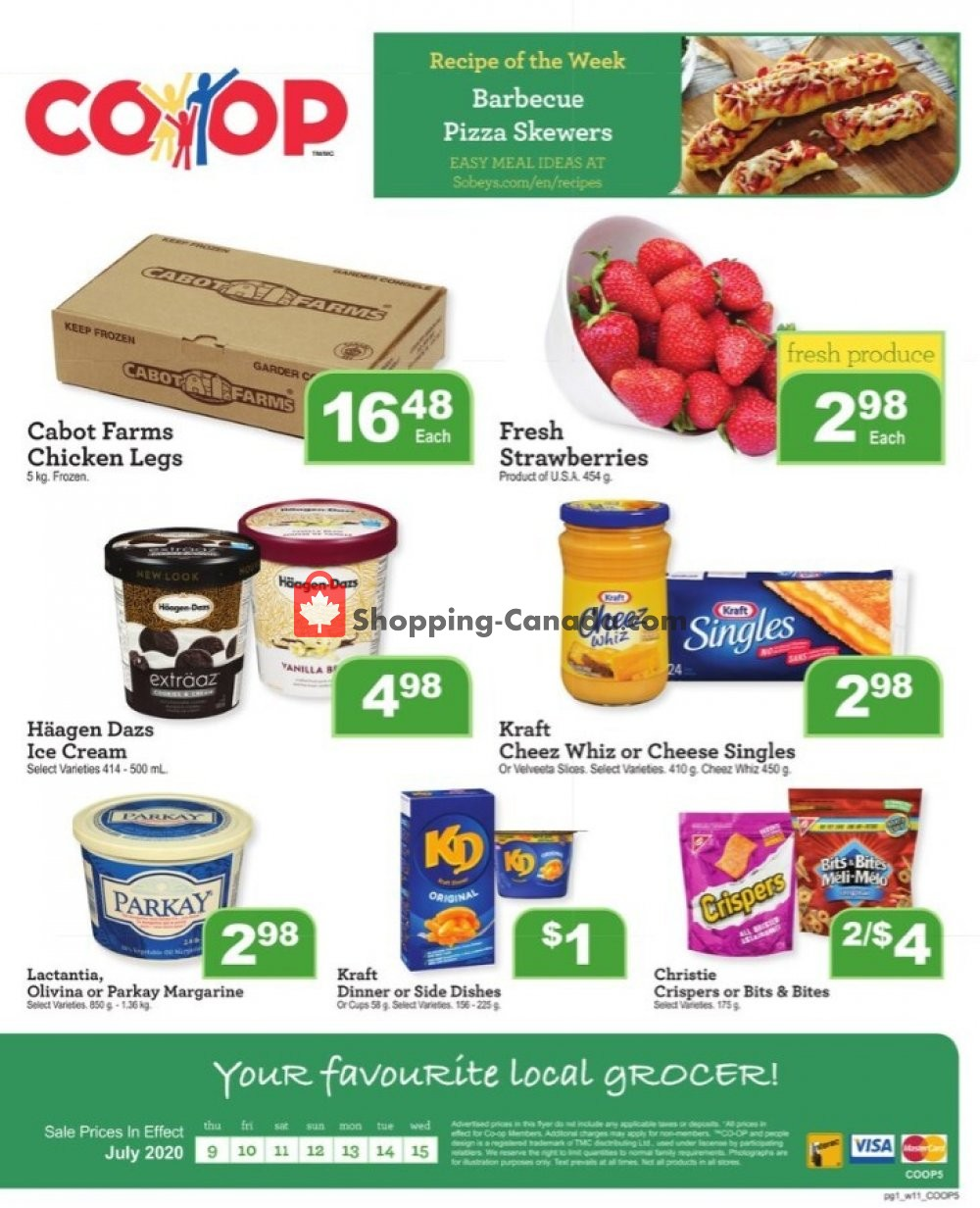 Flyer Clover Farm Canada - from Thursday July 9, 2020 to Wednesday July 15, 2020