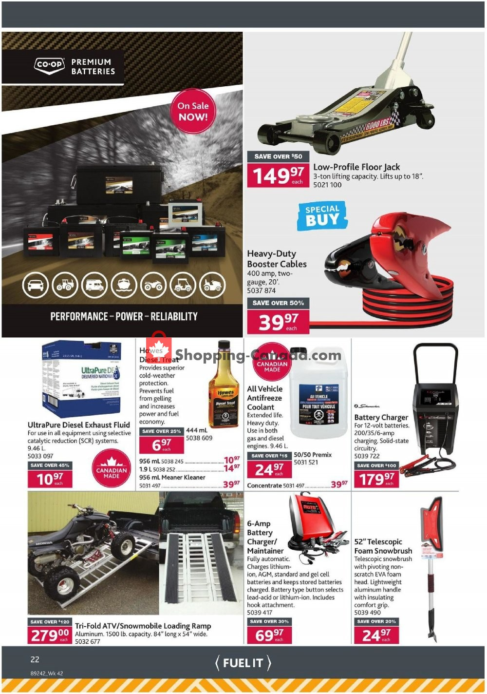 Flyer Co-op Canada - from Thursday October 10, 2019 to Wednesday October 23, 2019