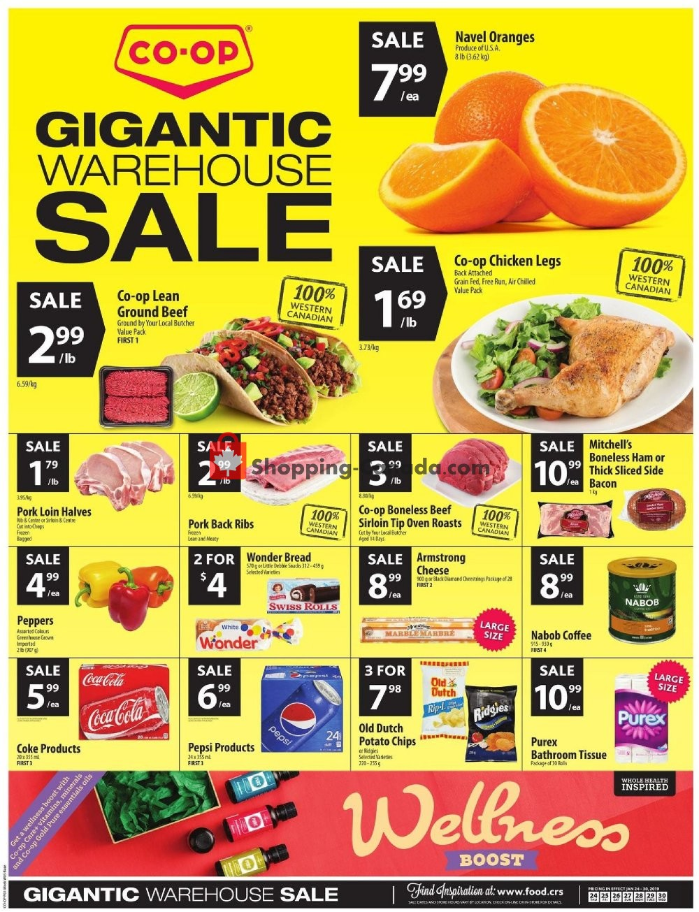 Flyer Co-op Canada - from Thursday January 24, 2019 to Wednesday January 30, 2019