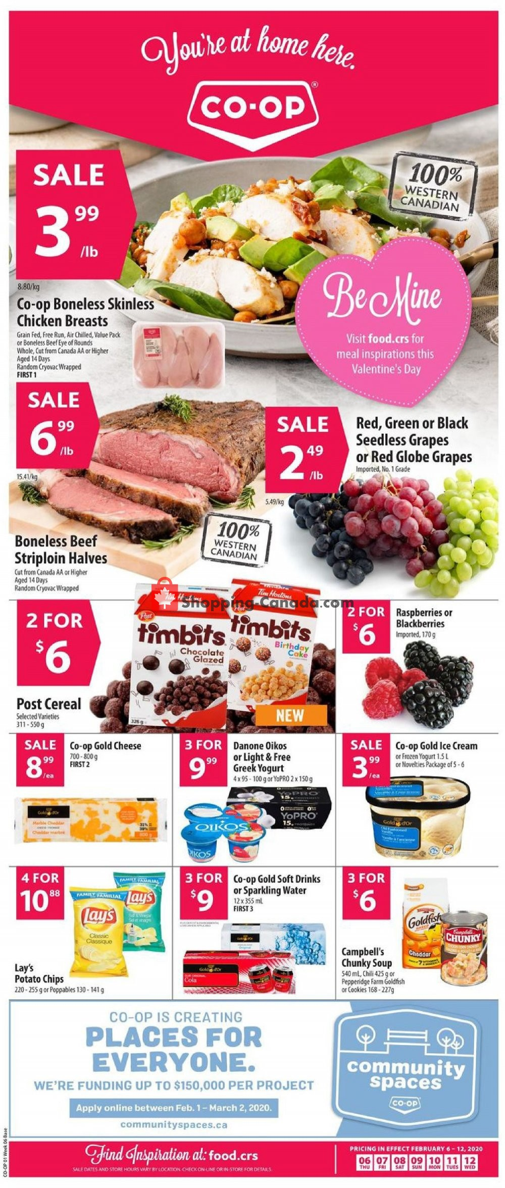 Flyer Co-op Canada - from Thursday February 6, 2020 to Wednesday February 12, 2020