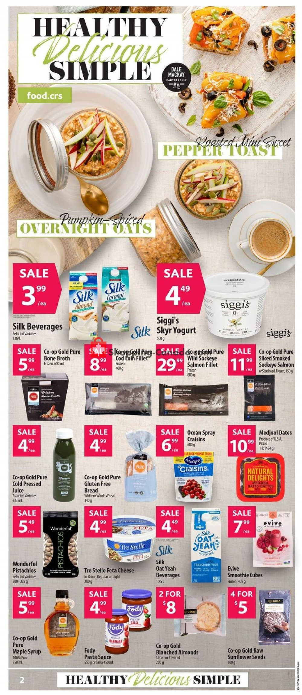 Flyer Co-op Canada - from Thursday January 16, 2020 to Wednesday January 22, 2020