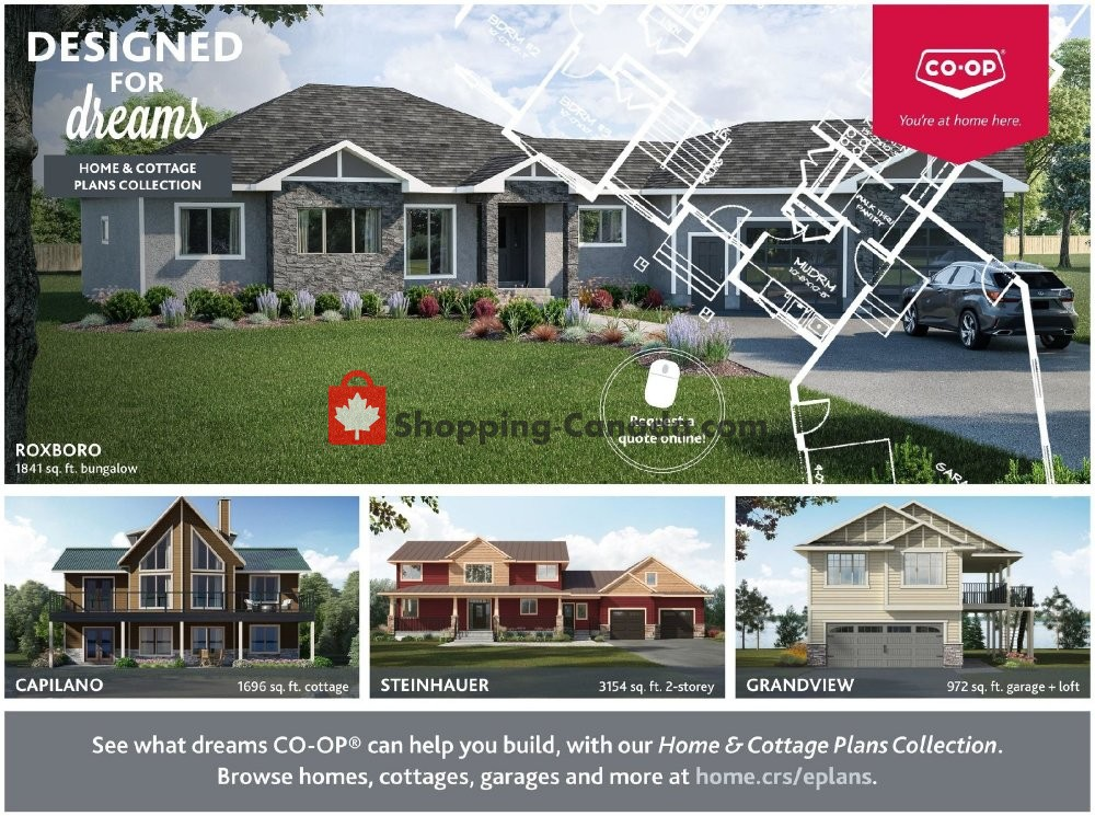 Flyer Co-op Canada - from Thursday October 18, 2018 to Wednesday October 31, 2018