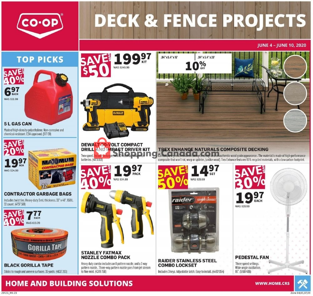 Flyer Co-op Canada - from Thursday June 4, 2020 to Wednesday June 10, 2020
