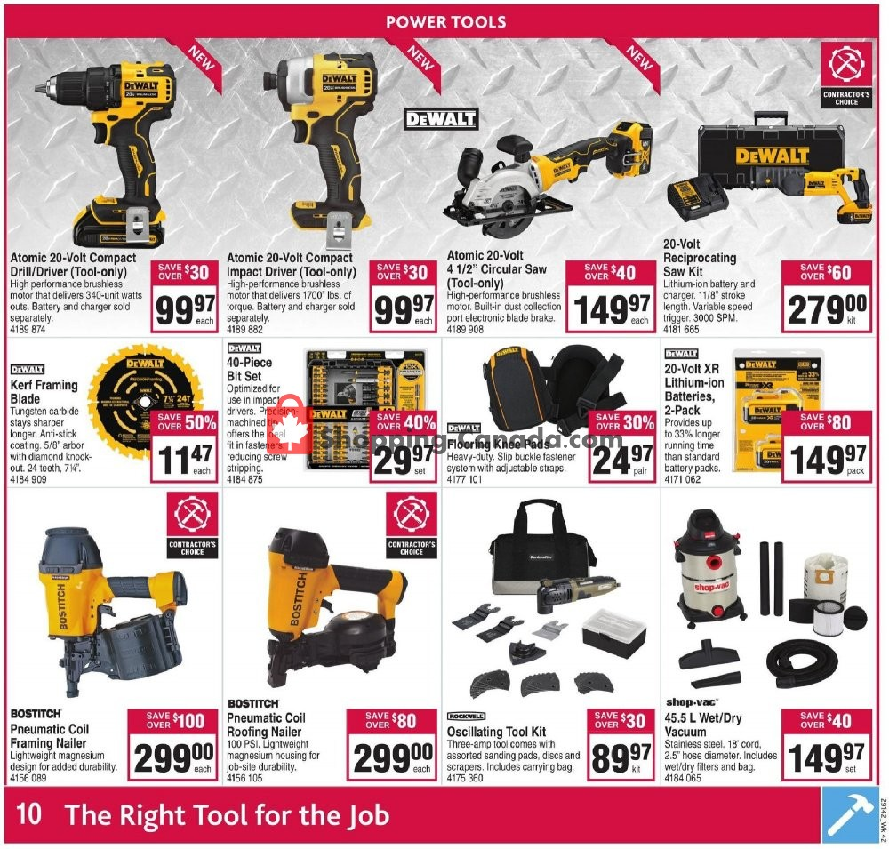 Flyer Co-op Canada - from Thursday October 10, 2019 to Wednesday October 16, 2019