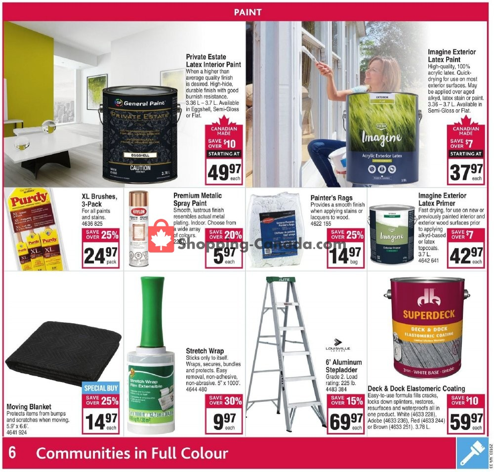 Flyer Co-op Canada - from Thursday August 8, 2019 to Wednesday August 14, 2019
