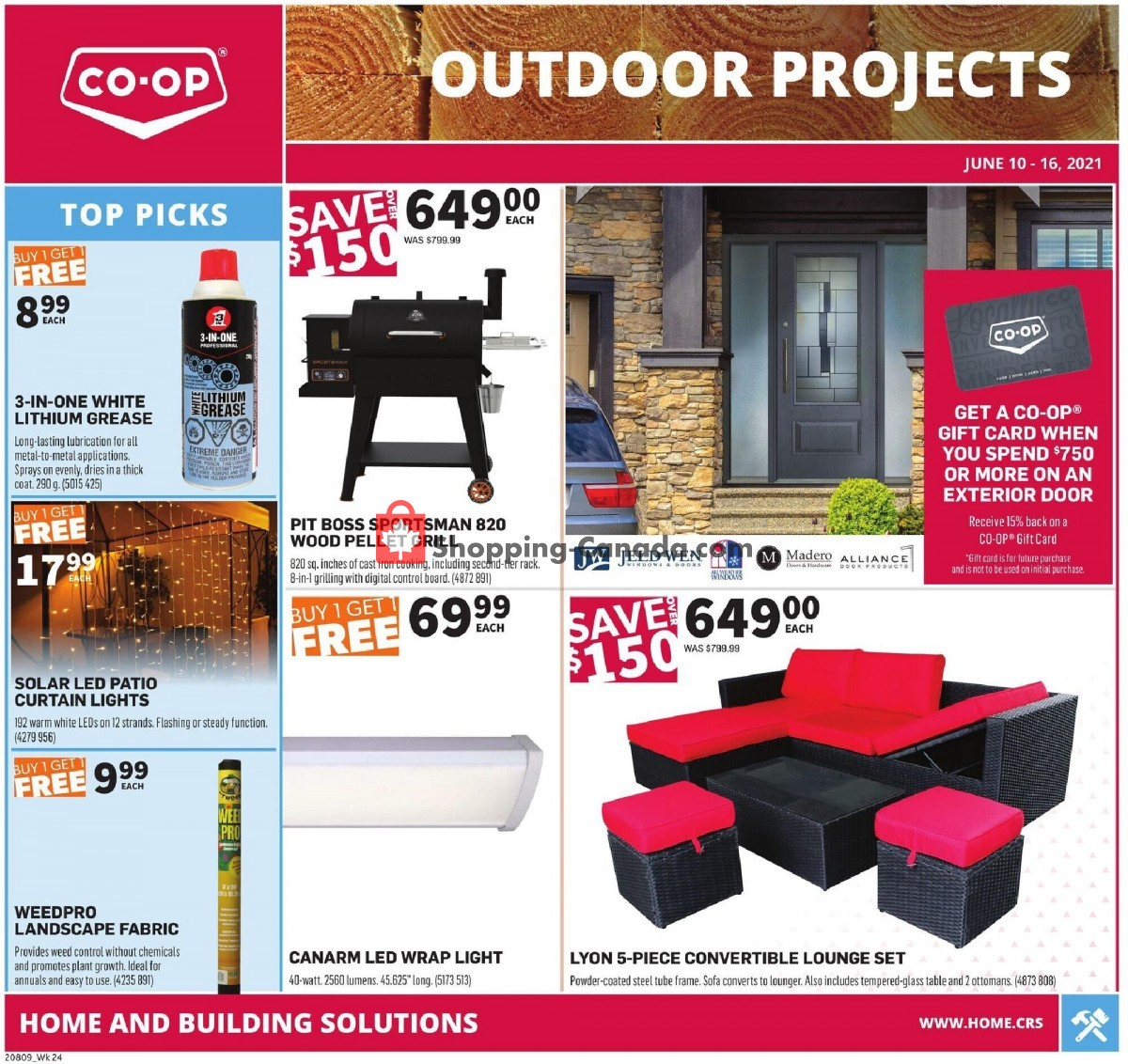 Flyer Co-op Canada - from Thursday June 10, 2021 to Wednesday June 16, 2021