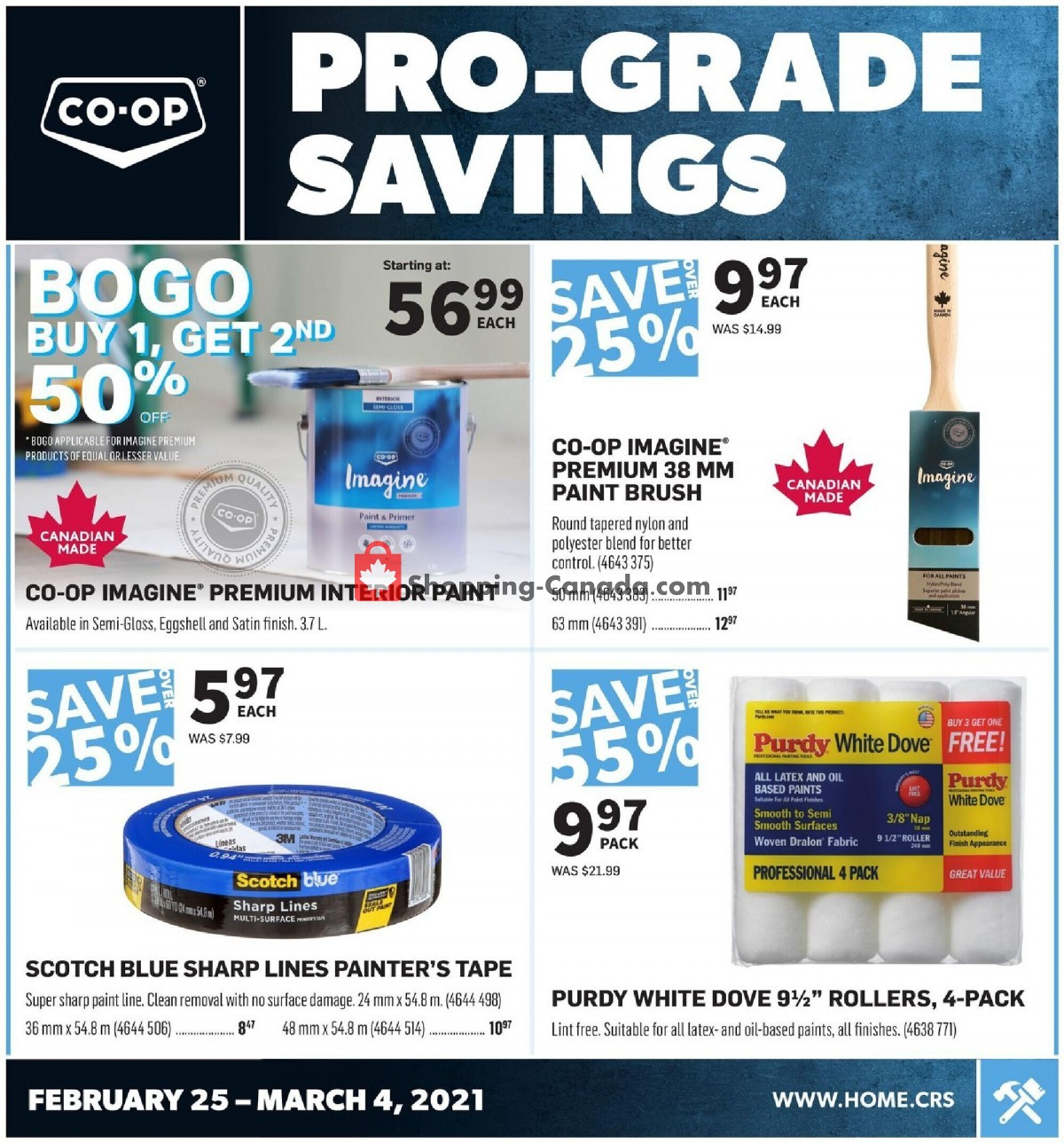 Flyer Co-op Canada - from Thursday February 25, 2021 to Thursday March 4, 2021