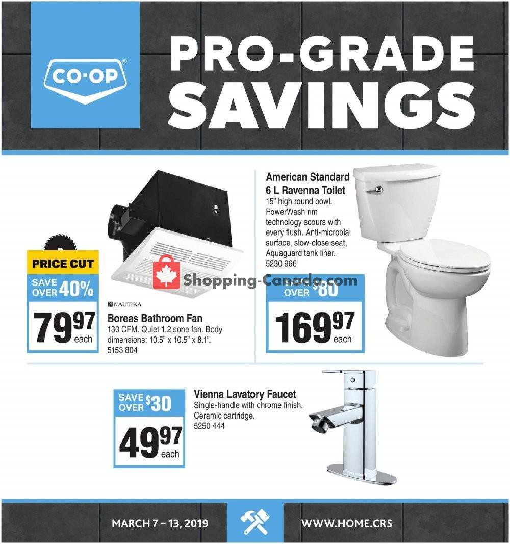 Flyer Co-op Canada - from Thursday March 7, 2019 to Wednesday March 13, 2019