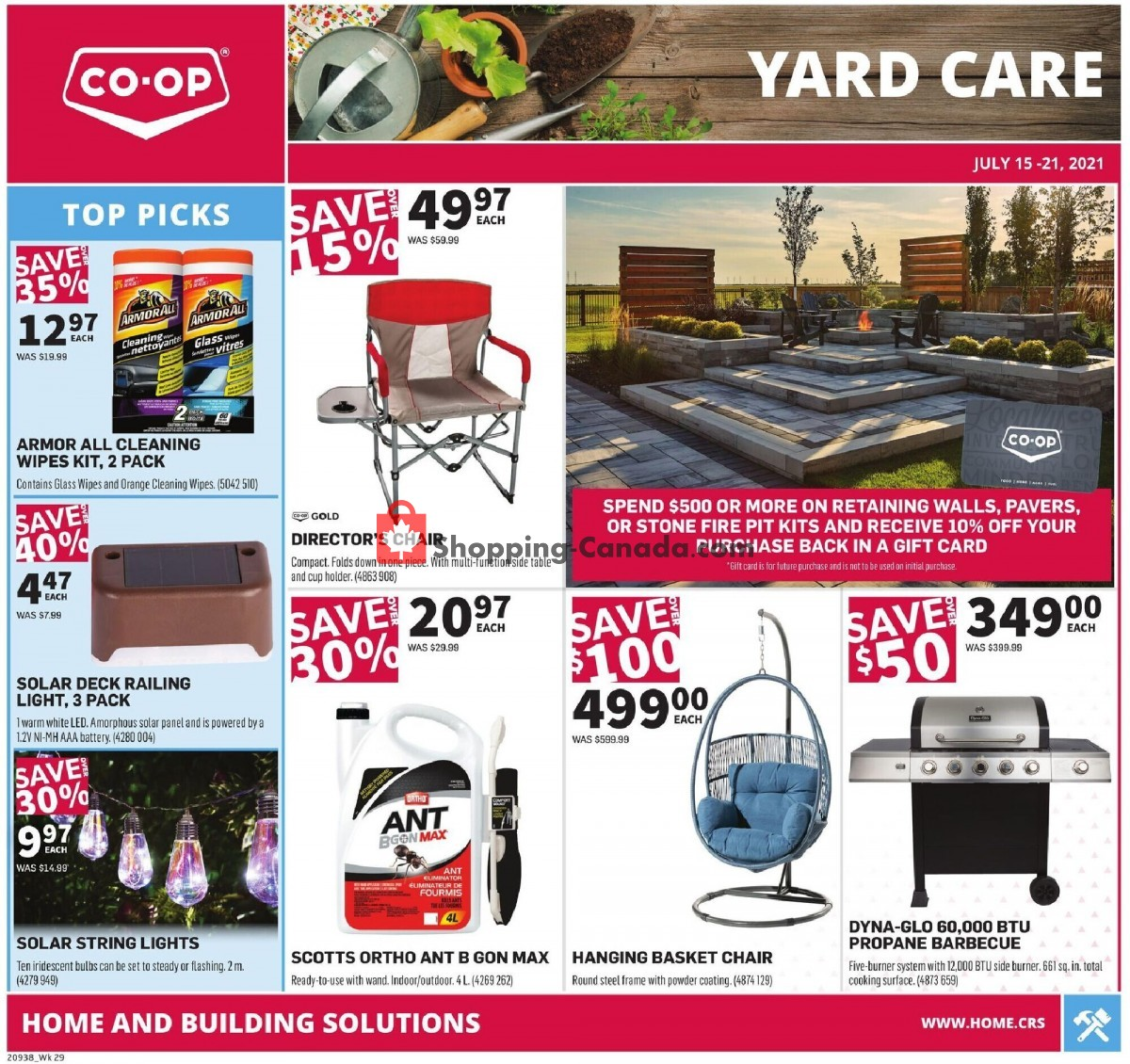 Flyer Co-op Canada - from Thursday July 15, 2021 to Wednesday July 21, 2021
